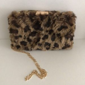 Pink Haley Animal Print Purse
